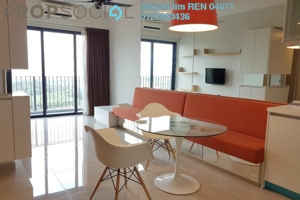 For Rent Condominium at Dex @ Kiara East, Jalan Ipoh Freehold Fully Furnished 2R/1B 1.7k