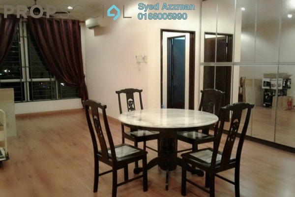 For Sale Condominium at Casa Tiara, Subang Jaya Freehold Semi Furnished 3R/2B 628k