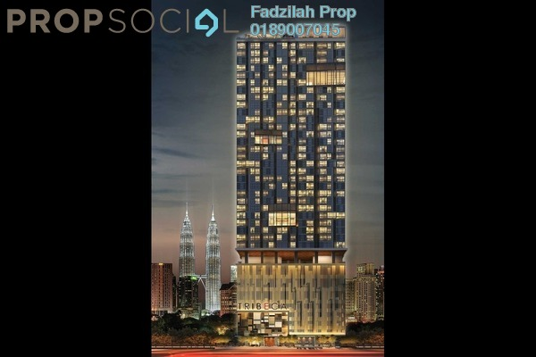 For Rent Condominium at Tribeca, Bukit Bintang Freehold Fully Furnished 1R/1B 4.4千