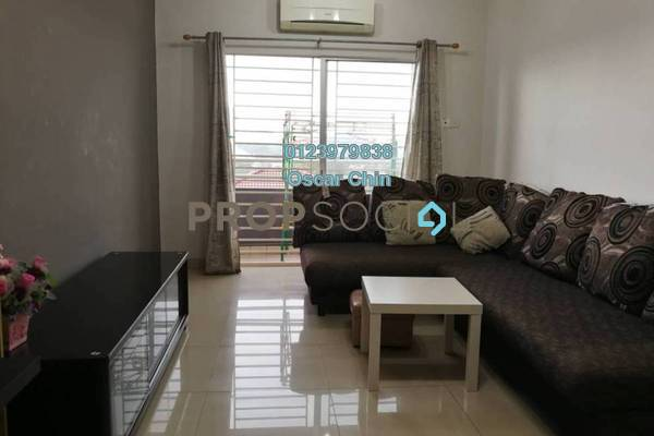 For Rent Condominium at Kinrara Mas, Bukit Jalil Freehold Fully Furnished 3R/2B 1.45k