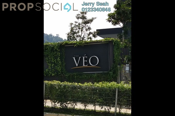 For Rent Condominium at The Veo, Melawati Freehold Semi Furnished 2R/2B 2.5k