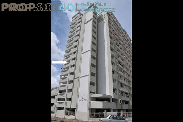 For Rent Apartment at Taman Kang Har Tong, Green Lane Freehold Unfurnished 3R/3B 800translationmissing:en.pricing.unit