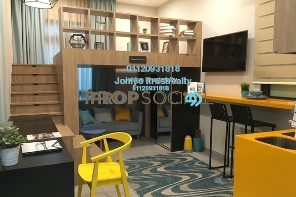 For Sale Condominium at D'Rapport Residences, Ampang Hilir Freehold Unfurnished 2R/2B 340k