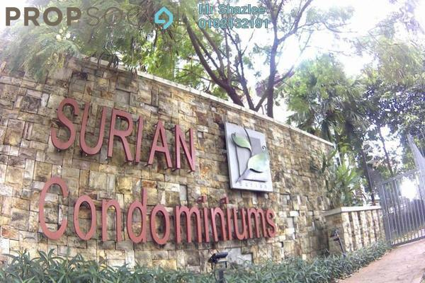 For Sale Condominium at Surian Condominiums, Mutiara Damansara Freehold Semi Furnished 5R/5B 1.6m