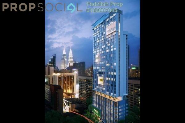 For Rent Condominium at Tribeca, Bukit Bintang Freehold Fully Furnished 2R/2B 5.6k