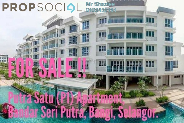 For Sale Condominium at Putra 1 Apartment, Bandar Seri Putra Freehold Unfurnished 3R/2B 420k