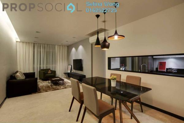 For Rent Condominium at Scenaria, Segambut Freehold Semi Furnished 3R/3B 1.9k