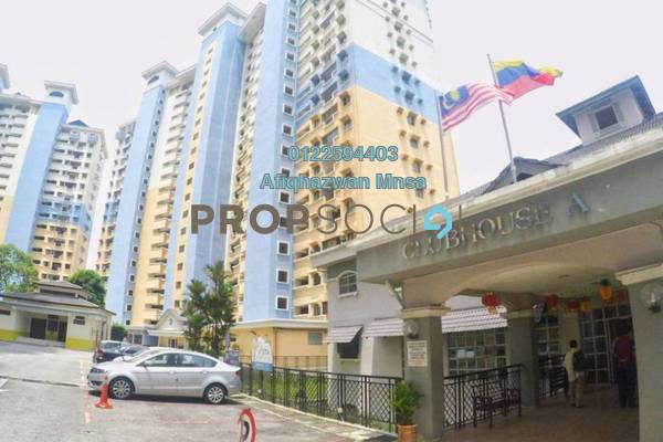 For Sale Condominium at Vista Komanwel, Bukit Jalil Freehold Semi Furnished 3R/2B 460k