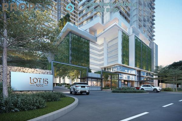 For Sale Serviced Residence at Lot 15, Subang Jaya Freehold Unfurnished 1R/1B 594k