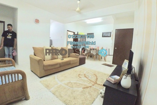 For Sale Apartment at Sri Wira Apartment, Ukay Leasehold Semi Furnished 3R/2B 265k