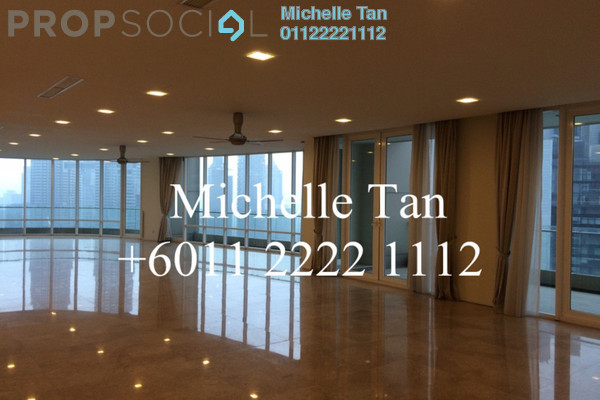 For Sale Condominium at The Oval, KLCC Freehold Semi Furnished 5R/7B 9.78m