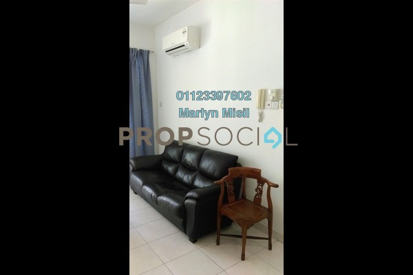 For Rent Serviced Residence at Casa Tiara, Subang Jaya Freehold Fully Furnished 3R/2B 1.8k