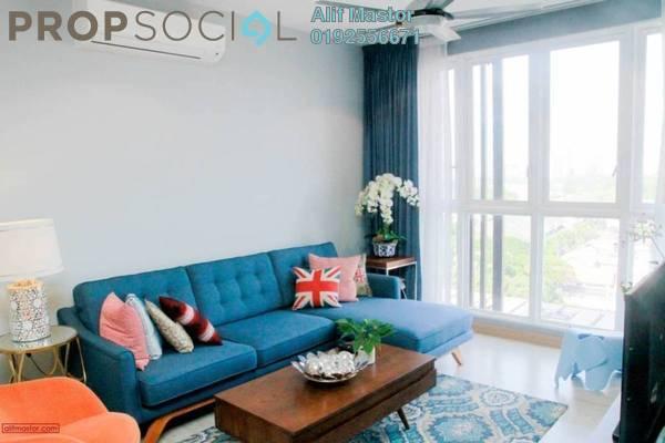 For Rent Condominium at Sentrio Suites, Desa Pandan Freehold Semi Furnished 3R/2B 3.8k
