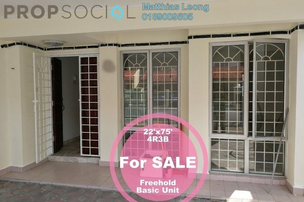 For Sale Terrace at Section 10, Putra Heights Freehold Unfurnished 3R/3B 728k