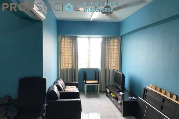 For Rent Condominium at Rhythm Avenue, UEP Subang Jaya Freehold Fully Furnished 3R/2B 1.7k