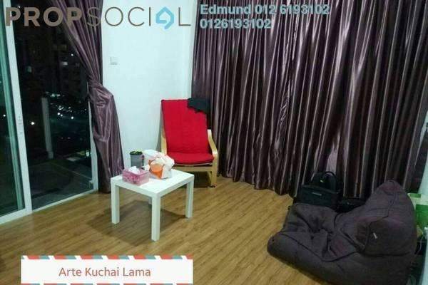 For Rent Condominium at Arte KL, Kuchai Lama Freehold Semi Furnished 3R/2B 2.3k