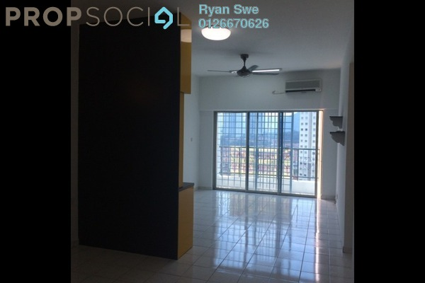 For Sale Apartment at Nova II, Segambut Freehold Semi Furnished 3R/2B 350k