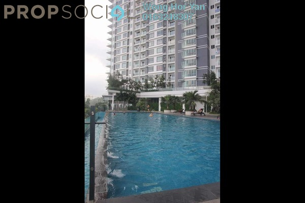 For Sale Serviced Residence at Desa Green Serviced Apartment, Taman Desa Freehold Semi Furnished 2R/2B 530k