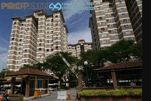 For Rent Condominium at Forest Green, Bandar Sungai Long Freehold Semi Furnished 3R/2B 1.1k