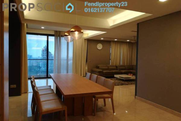 For Rent Condominium at Lumina Kiara, Mont Kiara Freehold Fully Furnished 5R/5B 8k