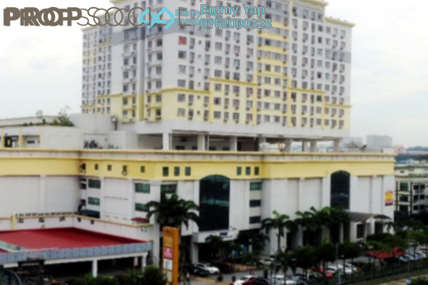 For Rent Serviced Residence at South City Plaza, Seri Kembangan Freehold Fully Furnished 3R/2B 1.2k