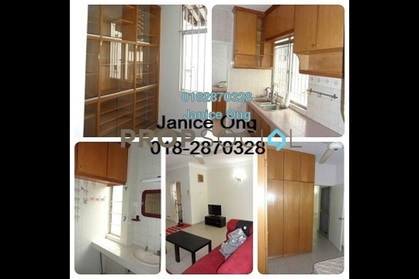 For Rent Apartment at Manor Apartment, Cheras Freehold Fully Furnished 3R/2B 1.6k