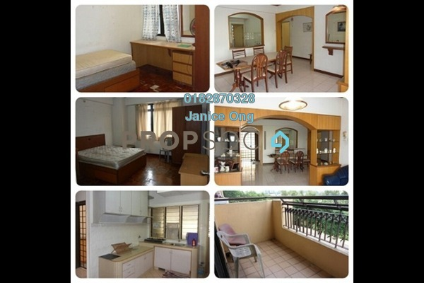 For Rent Condominium at Vista Komanwel, Bukit Jalil Freehold Fully Furnished 3R/2B 1.75k