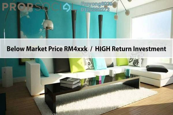 For Sale Condominium at Iris Residence, Bandar Sungai Long Freehold Unfurnished 3R/2B 560k