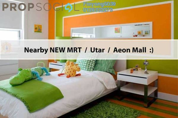 For Sale Condominium at Iris Residence, Bandar Sungai Long Freehold Unfurnished 4R/3B 610k