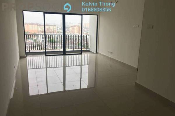 For Rent Condominium at SK One Residence, Seri Kembangan Freehold Unfurnished 2R/2B 1.3k