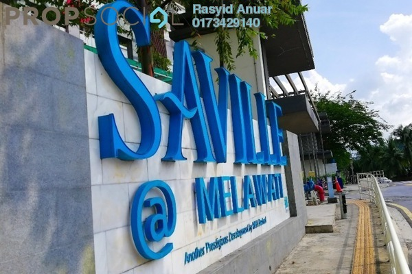 For Rent Serviced Residence at Saville, Melawati Freehold Semi Furnished 3R/2B 2k