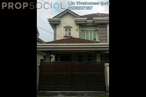 For Sale Semi-Detached at Taman Sinfar, Ipoh Leasehold Semi Furnished 5R/3B 538k