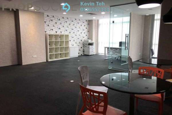 For Rent Office at Solaris Dutamas, Dutamas Freehold Fully Furnished 0R/0B 3.8k
