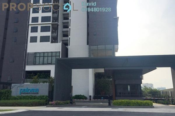 For Sale Condominium at Paloma Serviced Residences, Subang Jaya Freehold Unfurnished 2R/2B 730k