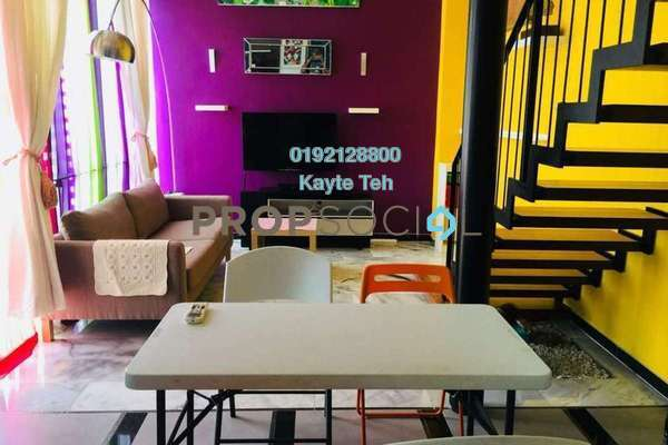 For Sale SoHo/Studio at Centrio, Pantai Freehold Semi Furnished 1R/2B 850k