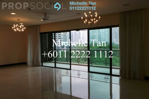 For Rent Condominium at The Binjai On The Park, KLCC Freehold Semi Furnished 3R/4B 16k