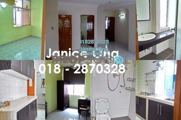 For Rent Apartment at Manor Apartment, Cheras Freehold Semi Furnished 3R/2B 1.55k