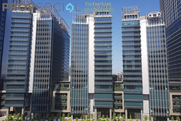 For Rent Office at KL Eco City, Mid Valley City Freehold Unfurnished 0R/0B 10.7k