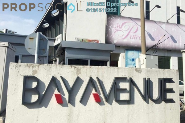 For Rent Shop at BayAvenue, Bayan Indah Freehold Semi Furnished 0R/0B 4.5k