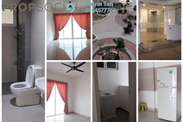 For Rent Condominium at Gardens Ville, Sungai Ara Freehold Unfurnished 3R/2B 1.2k