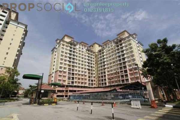 For Sale Apartment at Arena Green, Bukit Jalil Freehold Semi Furnished 3R/2B 340k
