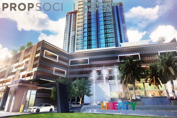 For Sale SoHo/Studio at Liberty Arc @ Ampang Ukay, Ukay Freehold Fully Furnished 1R/1B 330k