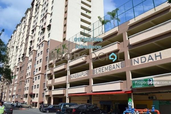 For Rent Condominium at Kampung Berembang, Ampang Hilir Freehold Unfurnished 3R/2B 1.2k