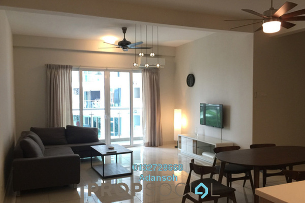 For Rent Condominium at Royal Regent, Dutamas Freehold Semi Furnished 3R/3B 3.2k