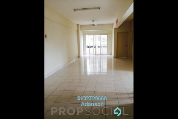 For Rent Apartment at Vista Mutiara, Kepong Freehold Semi Furnished 2R/2B 1.4k
