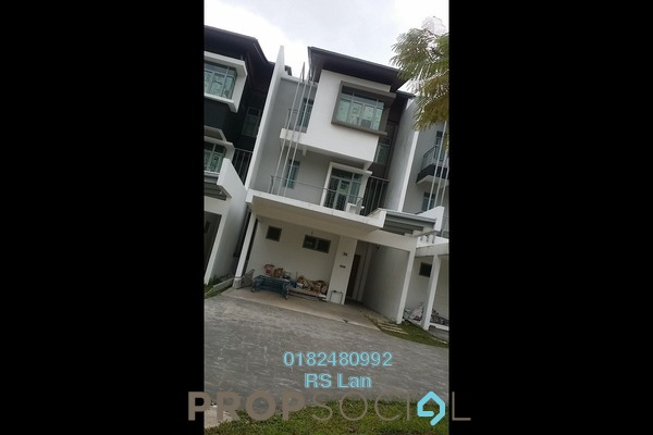 For Sale Superlink at Symphony Hills, Cyberjaya Freehold Semi Furnished 4R/4B 1.38m