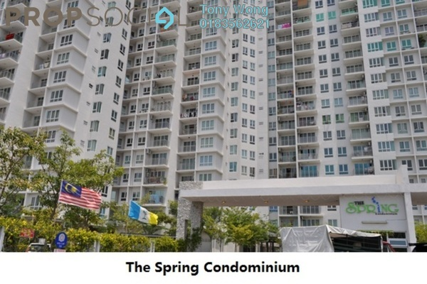 For Rent Condominium at The Spring, Jelutong Freehold Unfurnished 3R/2B 1.1k