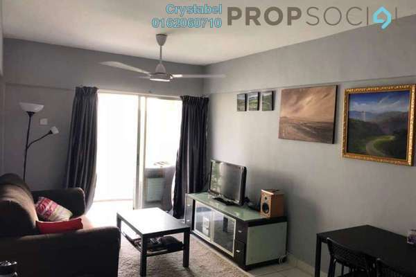For Rent Apartment at Arena Green, Bukit Jalil Freehold Fully Furnished 2R/2B 1.3k