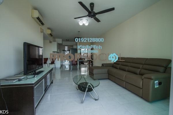 For Rent Condominium at Kiara Designer Suites, Mont Kiara Freehold Semi Furnished 3R/2B 3k