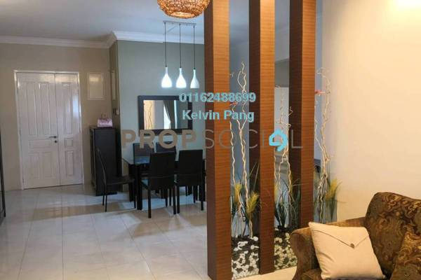 For Sale Condominium at BaysWater, Gelugor Freehold Fully Furnished 4R/2B 915k